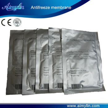 Cooling pads for cryolipolysis treatment