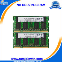 Cheap computer parts 128mb*8 2gb ddr2 bus 800 laptop