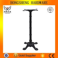 cast iron table legs wrought iron table with marble top cheap bar table sets A079B
