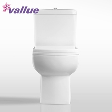 Wholesale floor type ceramic asian western 2 piece toilet commode