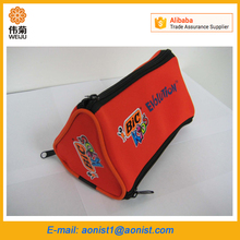 Wholesale students custom printed promotional neoprene pencil case