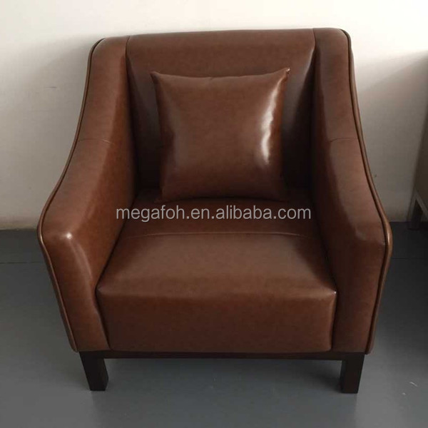 Modern office reception room arm chair lounge sofa(FOH-1451)