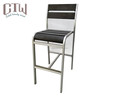 Bar furniture outdoor aluminum bar chair