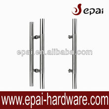stanless steel glass door pull handle for front door