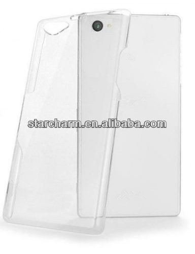 Crystal Clear Hard Case Cover for Sony Xperia Z1 Compact