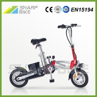 12 inch 36v 250w light weight foldable aluminum racing electric bike for kids
