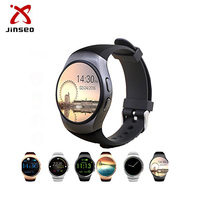 Bluetooth phone led kw18 smart watch bulk buy from china