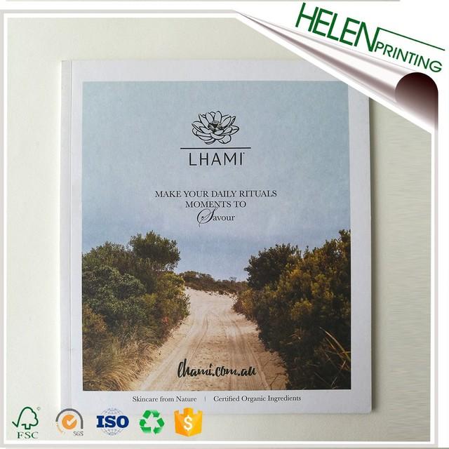Cosmetic Catalogue Printing Shenzhen