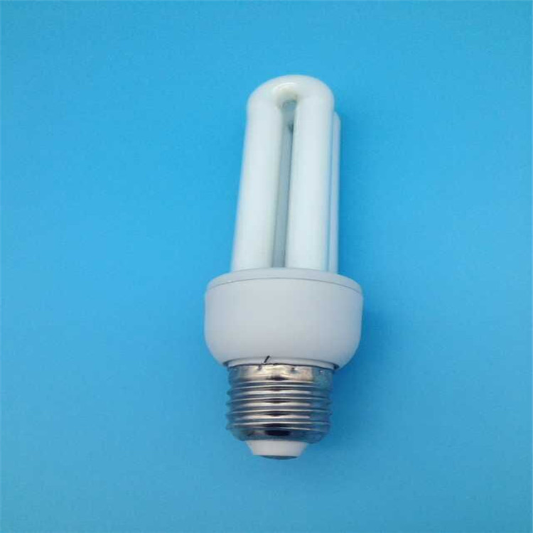 2u shape cfl T3 energy saving lamp