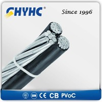 XLPE Insulated Aerial Bundled Cables 6.35/11,12.7/22,19/33kV copper core coaxial cable rg6