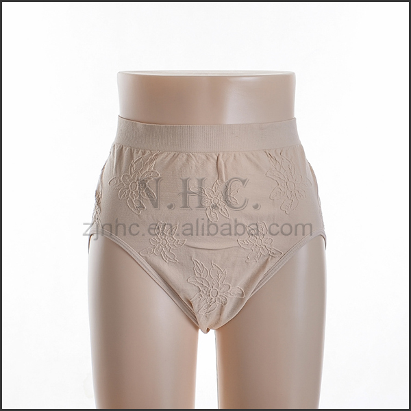 China new design popular junior woman underwear models mammy panty