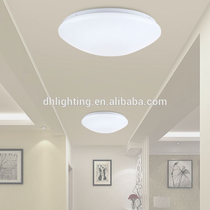 Factory provided radar inductive led ceiling light fixtures china acrylic ceiling lamp