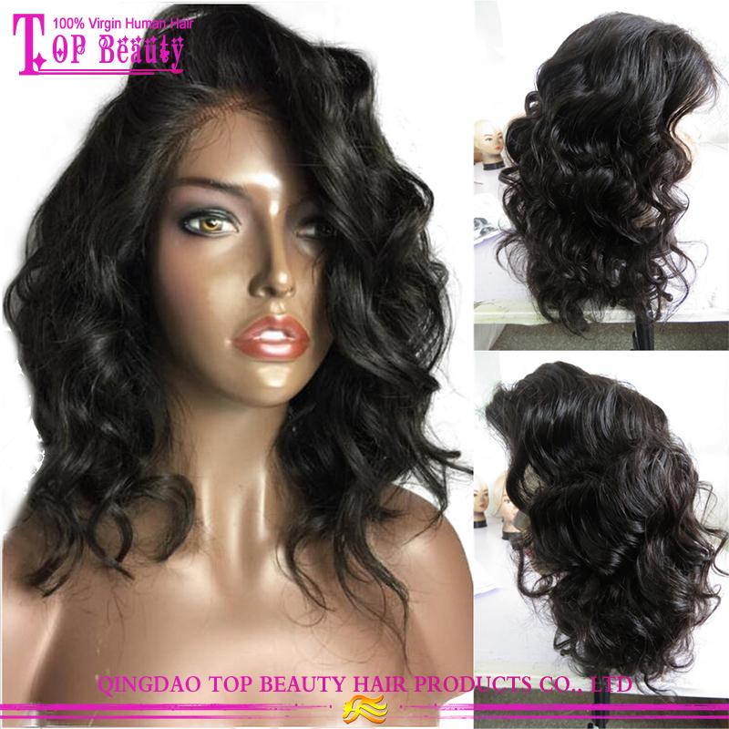 Human Hair Short Bob Lace Front Wig 13 6 Short Bob Wigs For Black