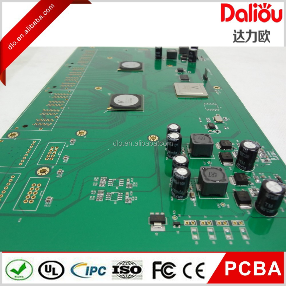 Shenzhen High Quality Customized Ems Fr4 Pcb,multilayer board for safety equipment