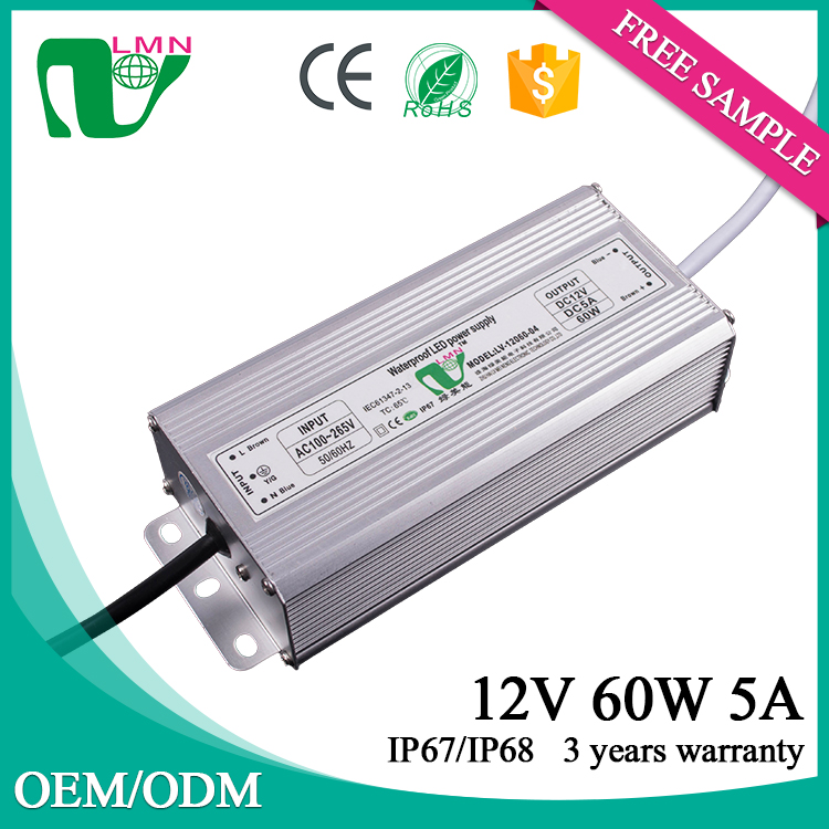 12vdc constant voltage dimmable led driver