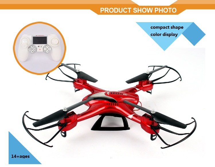 New arrivals 2016!2.4G 6-axle drones with hd camera and gps r44 helicopter VS syma x8w