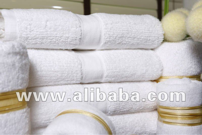 100% Cotton Hotel and Spa Towels
