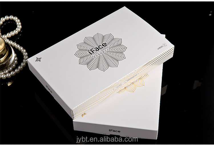 custom drawer style laser card paper cosmetic packaging box