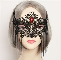 DINAH lace face mask for party wholesale alibaba with soft design MJ02