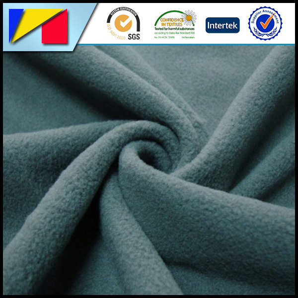100% polyester brushed polar fleece fabric,solid or print,cheap polar fleece fabric
