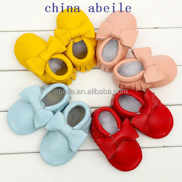 Multi Color Toddler Baby Moccasins 2014 Infant Baby Shoes First Walker newborn infant Girl Boy Shoes