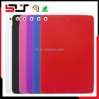 Stylish and affordable soft silicone cover for ipad5 case