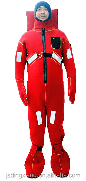 EC/Solas Approved Type II Neoprene Immersion Suits