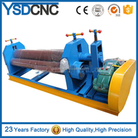 roller bender with 3 roller rolling machine,metal rolling machine