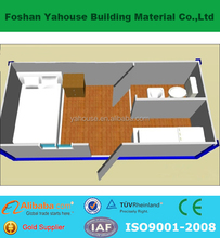 China low cost fast and quick erect construction container house camp