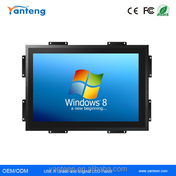 True flat seamless 21.5inch Open frame touch monitor with Capacitive touchscreen