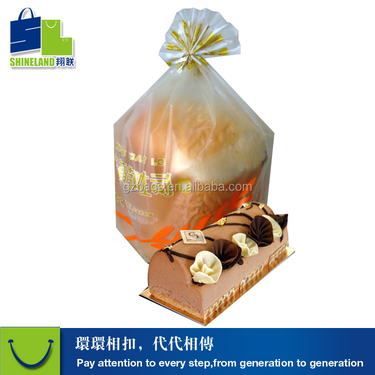 Bakery plastic packaging bags frosted film Best sale for BREAD carrier