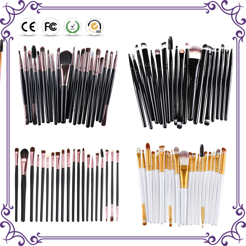 20 Pcs Professional Eye Shadow Cosmetic Brush For Powder Sets & Kits Pencil Make Up Brushes Maquiagen Makeup Brushes