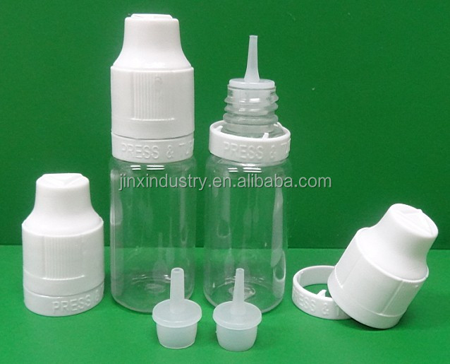 Empty Plastic Bottle Dispenser for e-liquid Refill e-cigarette - 10ml