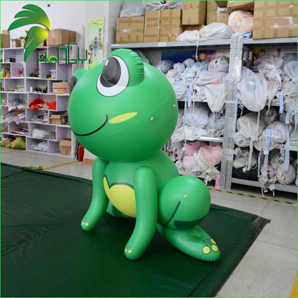 Inflatable frogs (3)