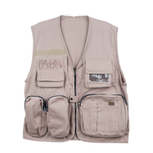 Welcome OEM multi pocket vest photographer vest