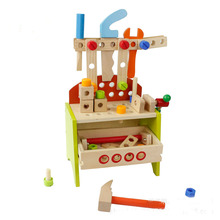 Toys Stock Wholesale Puzzle Cheap Educational Assembled Nuts Kids Tools Kids Wooden Toys