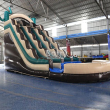 Outdoor game inflatable toys giant inflatable slide for rental business