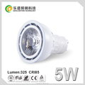 Lepu top selling dimmable 220v 45 beam angle cob gu10 2700k with 3years warranty
