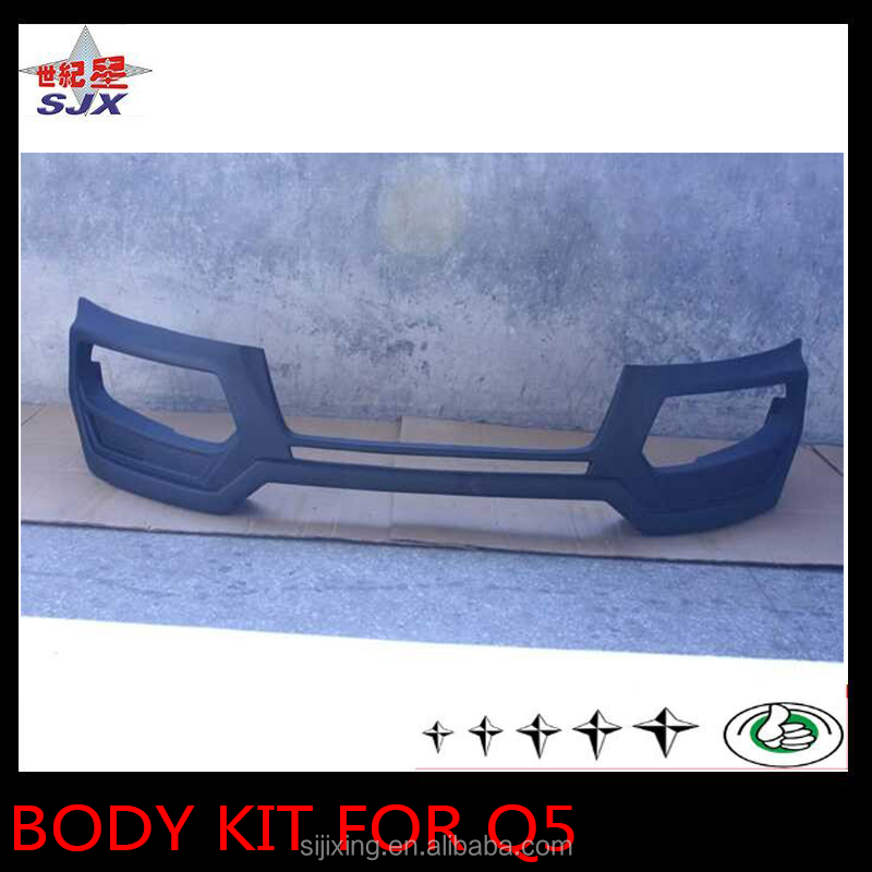 Factory supply pp plastic full set small body kit for audi Q5 car exterior decoration