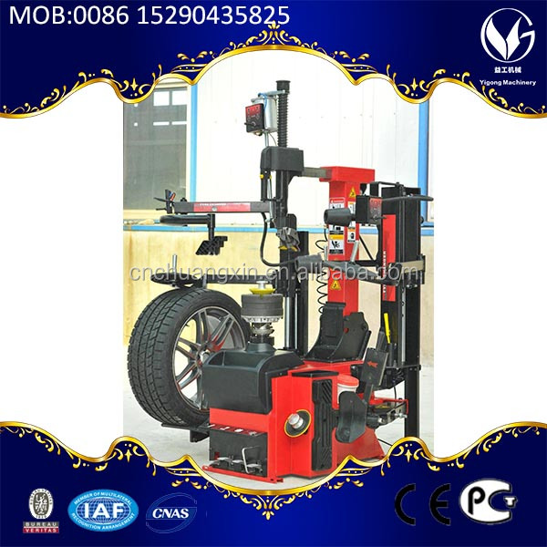 long Service Lift electric tyre alignment Tire changer no crowbar type
