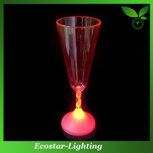 Flashing LED Champagne Cup for Christmas Decoration