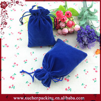 Hotsale Velvet Necklace Bag/Jewellery Drawstring Gift Bag Pouches/Jewelry Bags