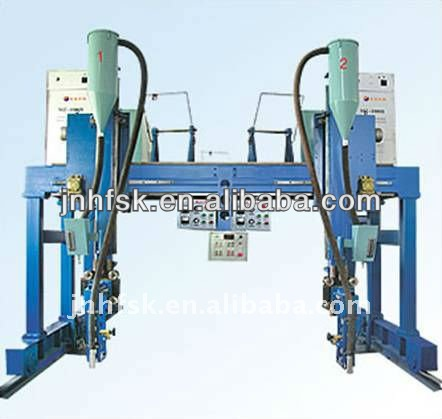 China Manufacture H Beam Welding Production Line
