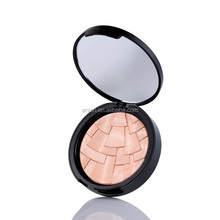 Shimmer Bronzers and Highlighters Powder Makeup Face Blusher Highlighters for Palette Contour