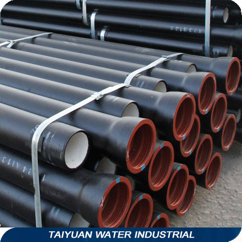 Shanxi Manufacture Spherical Graphite Iron/Ductile Iron Pipe K9