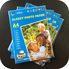 one sided glossy photo paper a4 inkjet photo printing paper types 115g