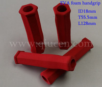 Hexagonal Rubber Foam Handle Grip / Sports Equipment Rubber Foam Handle Cover / Foam Rubber Sleeve Hand Grip