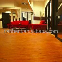 hanhent wood embossed plastic floor plank for commercial