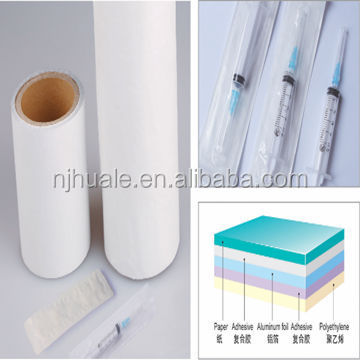 Paper backed soft aluminum foil / Paper Composite soft Film