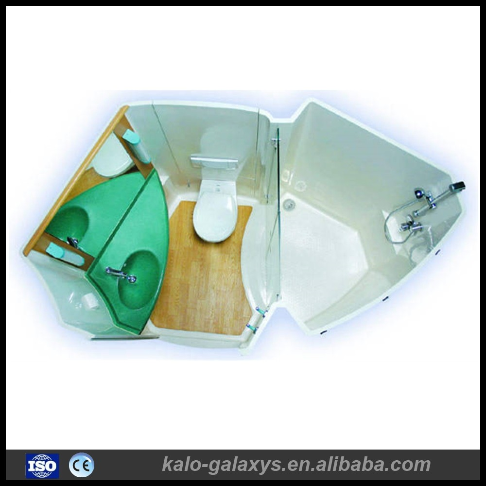 Made In China New Style Convenient Modular Fiberglass prefab bathroom